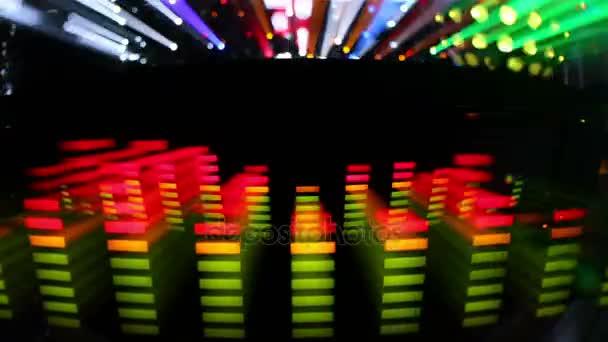 koncert fény spektruma