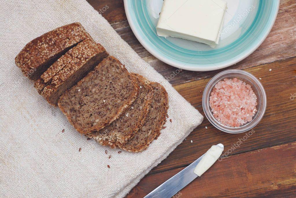 диета хлеб с маслом