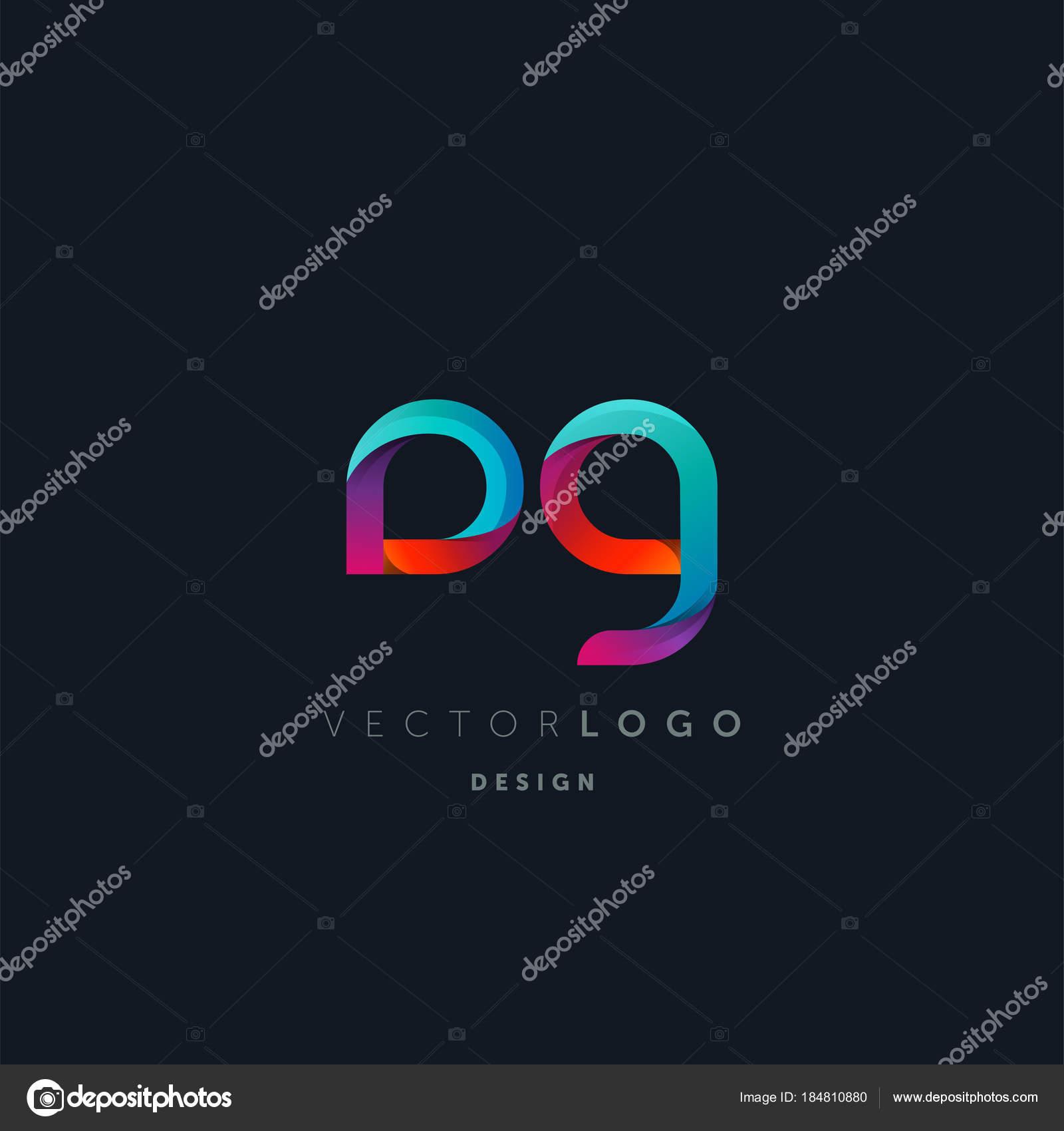 Dirección General Conjunta Letras Logo Plantilla Tarjeta Visita ...