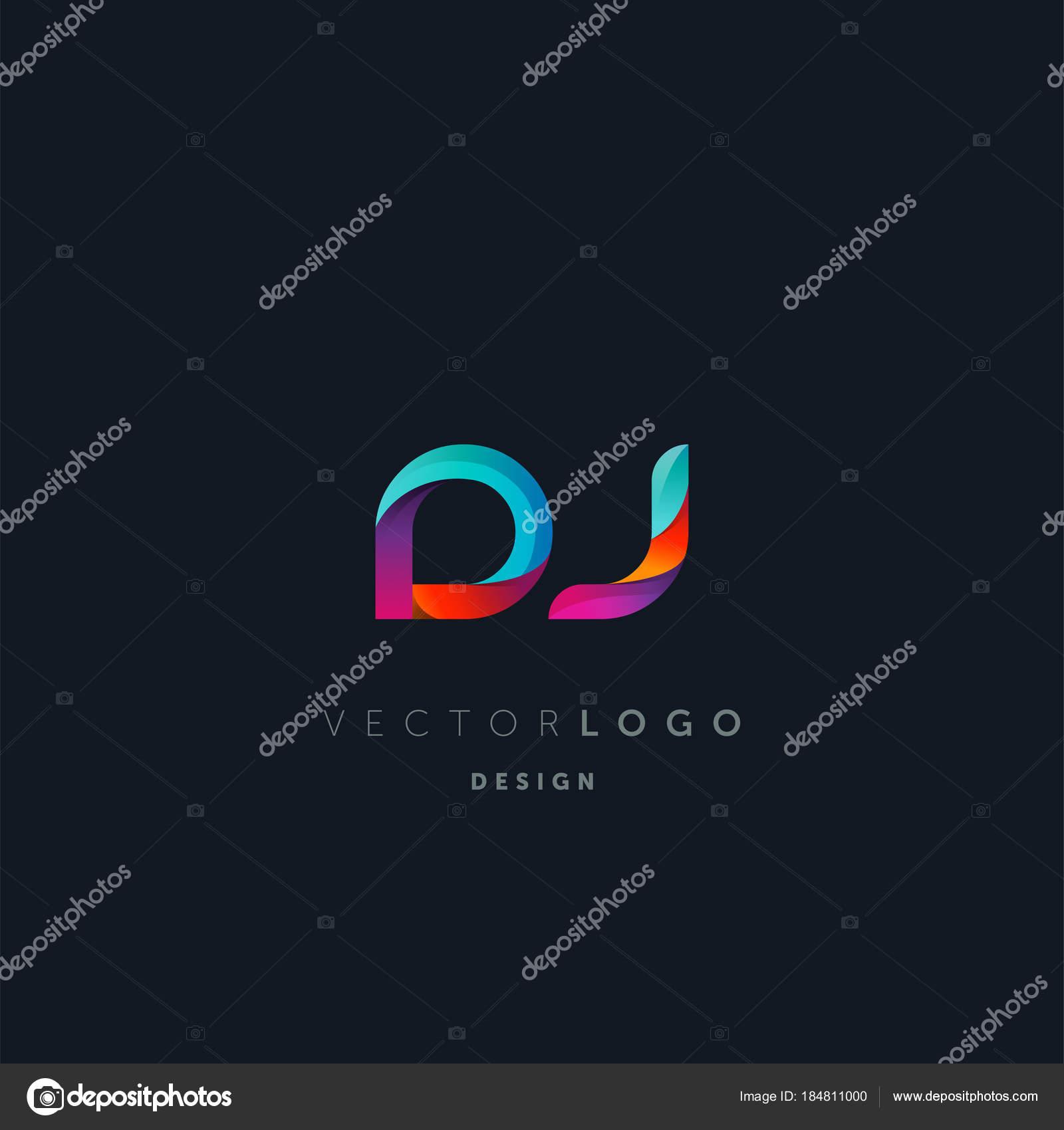 Vectoriel Logo Modle De Carte Visite Lettres Communes Dj Vecteur Par Ajayandzyngmail
