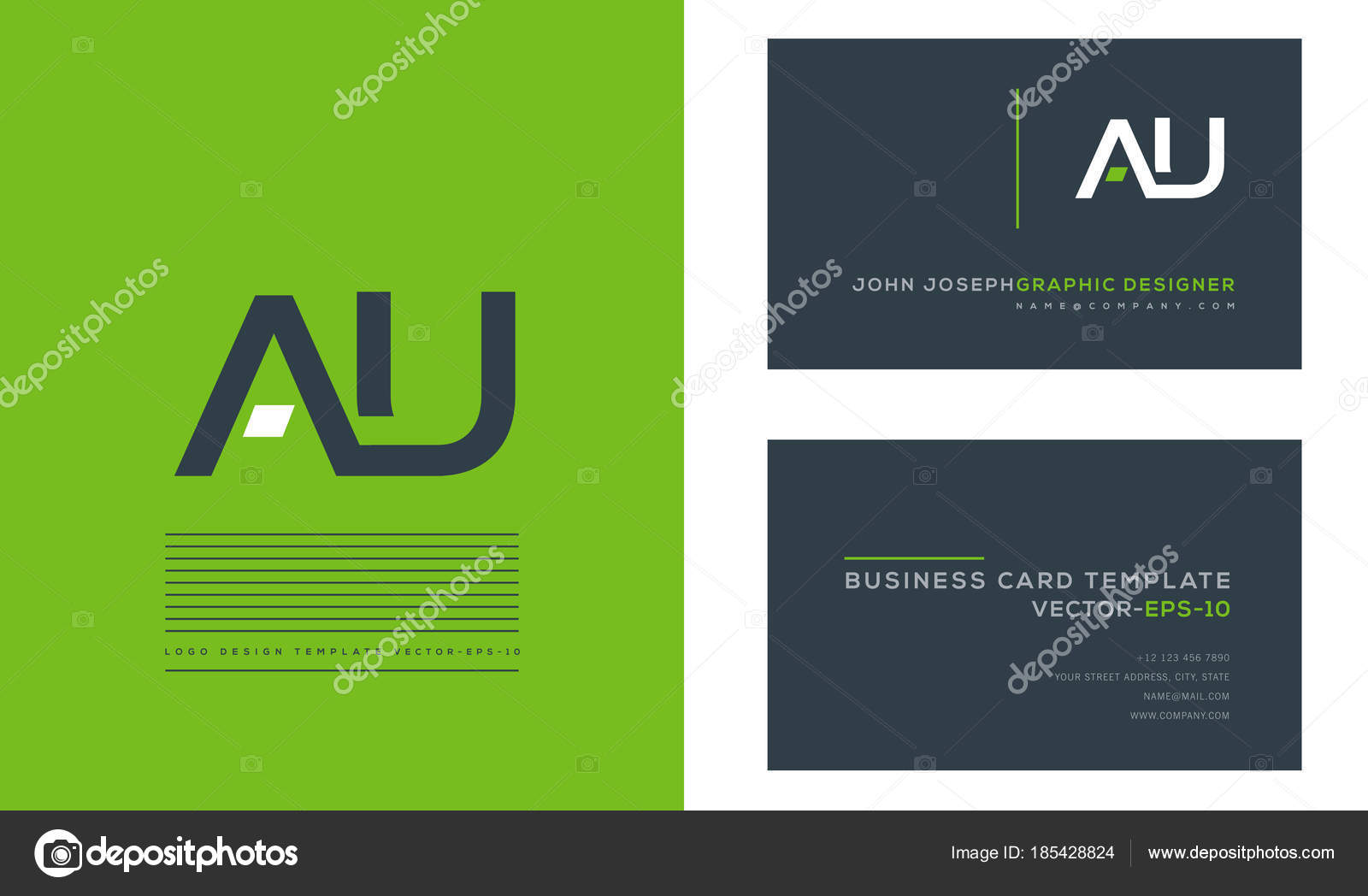 Logo joint business card template vector stock vector ajayandzyn logo joint business card template vector stock vector wajeb Image collections