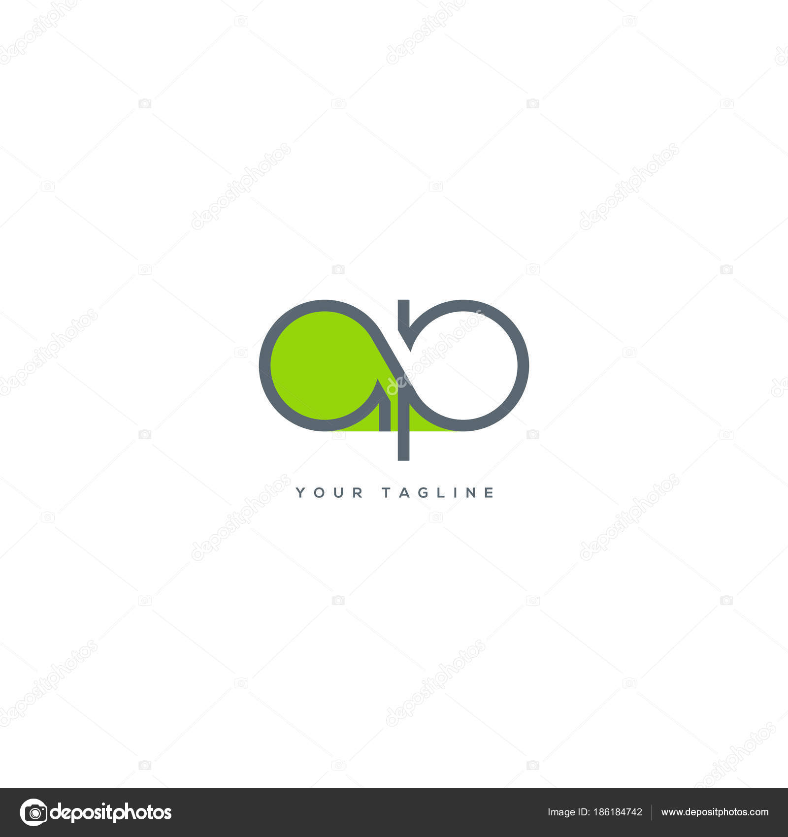 Joint single letters logo business card template vector stock joint single letters logo business card template vector stock vector cheaphphosting Image collections
