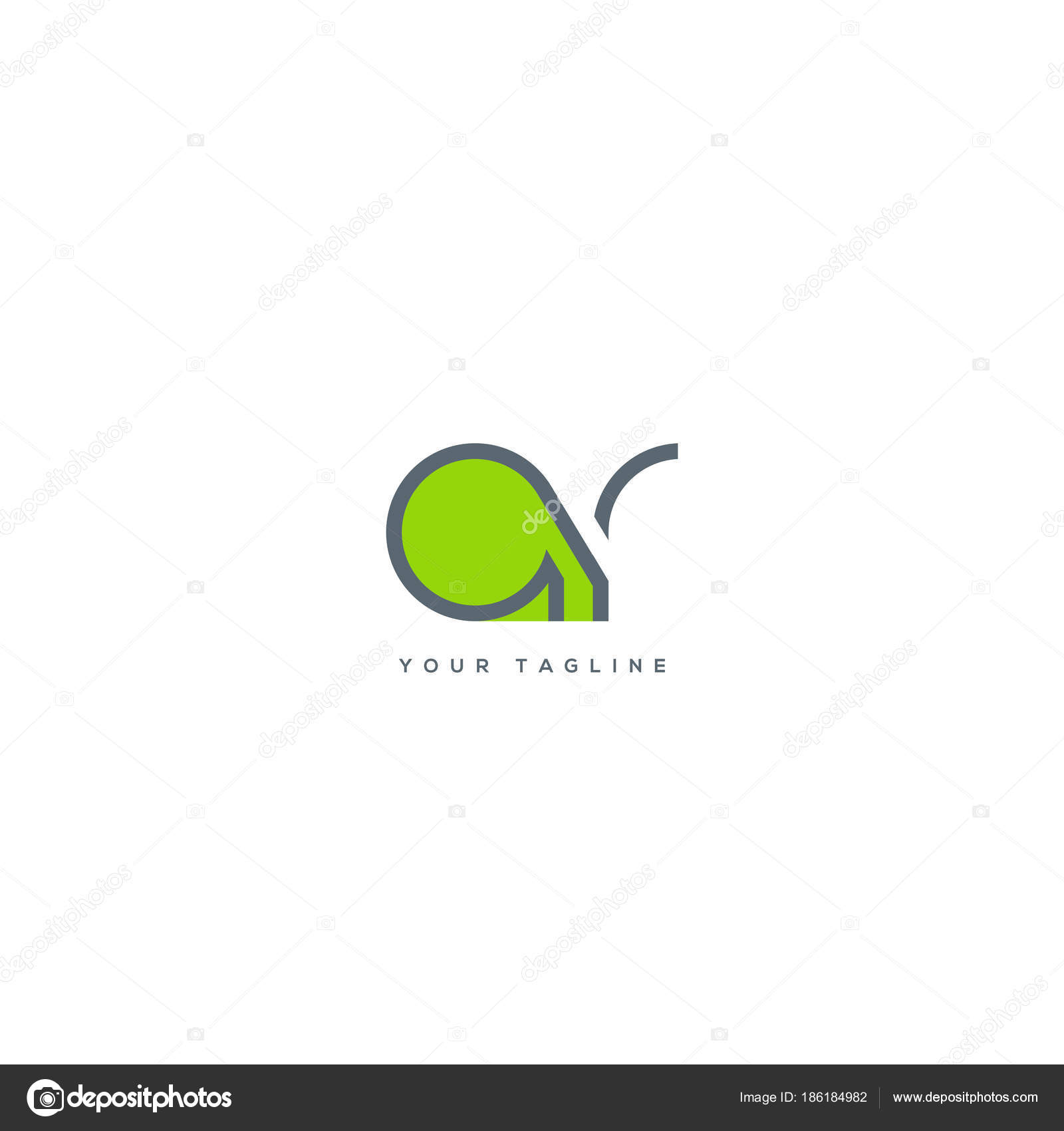 Joint single letters logo business card template vector stock joint single letters logo business card template vector stock vector accmission Images