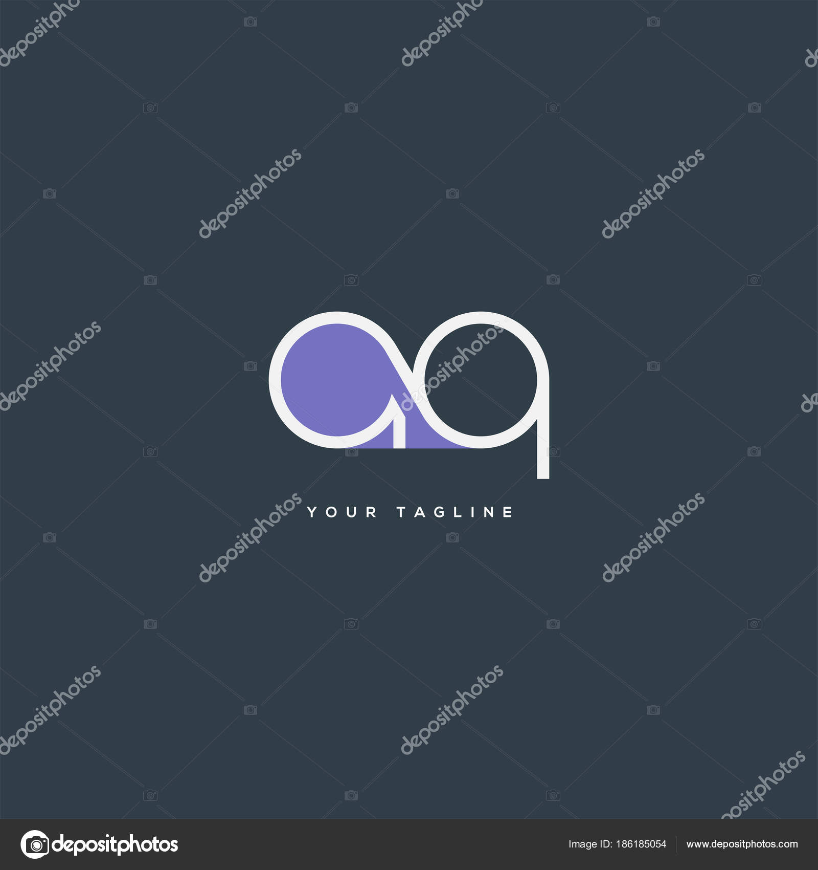 Joint single letters logo business card template vector stock joint single letters logo business card template vector stock vector cheaphphosting Images