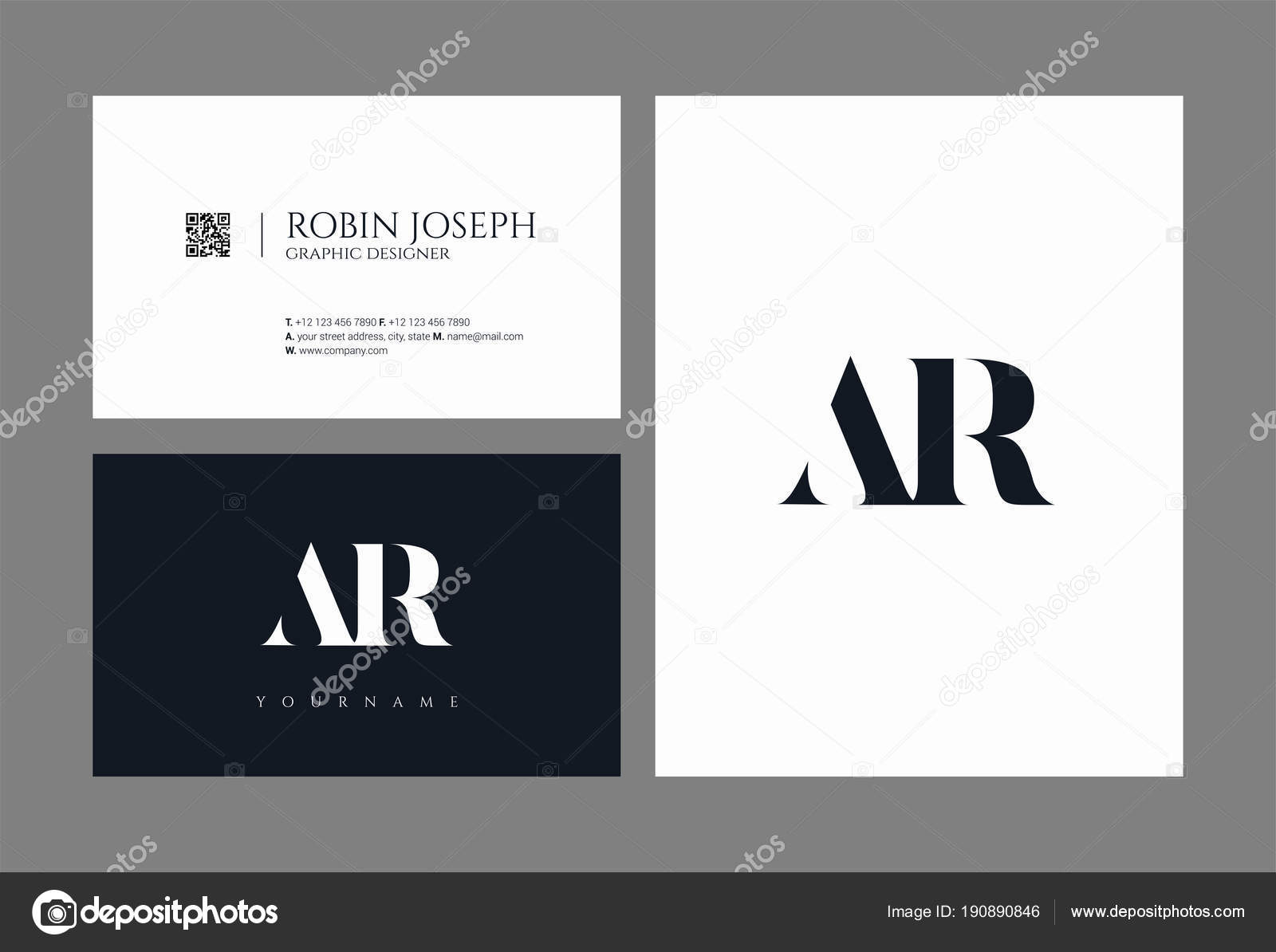 Business Card Template — Stock Vector © ajayandzyn@gmail.com #190890846
