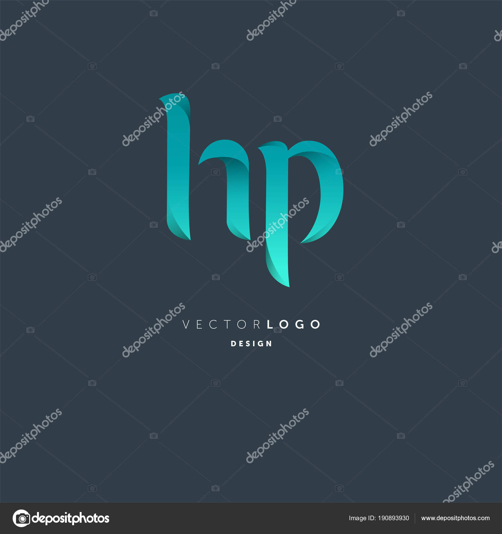 logo joint business card template vector illustration stock vector