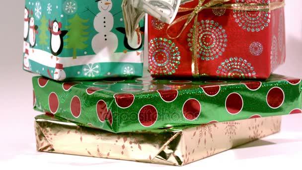 dárky od vánoční stromeček