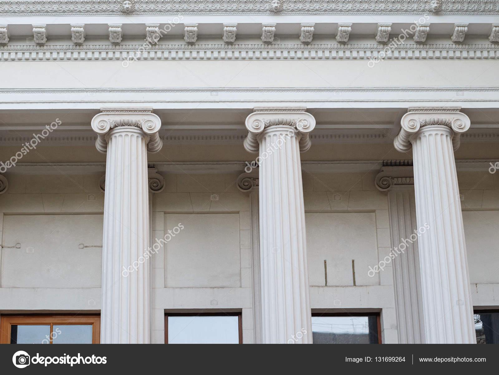 Columnas de orden j nico griego el antiguo arte de la for En que consiste la arquitectura