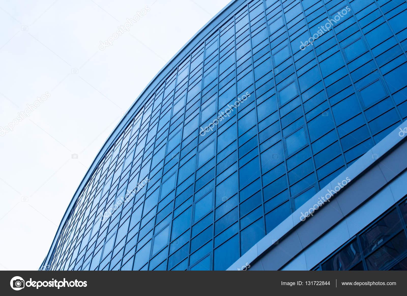 Costruzione di ufficio di vetro di architettura moderna u2014 foto stock