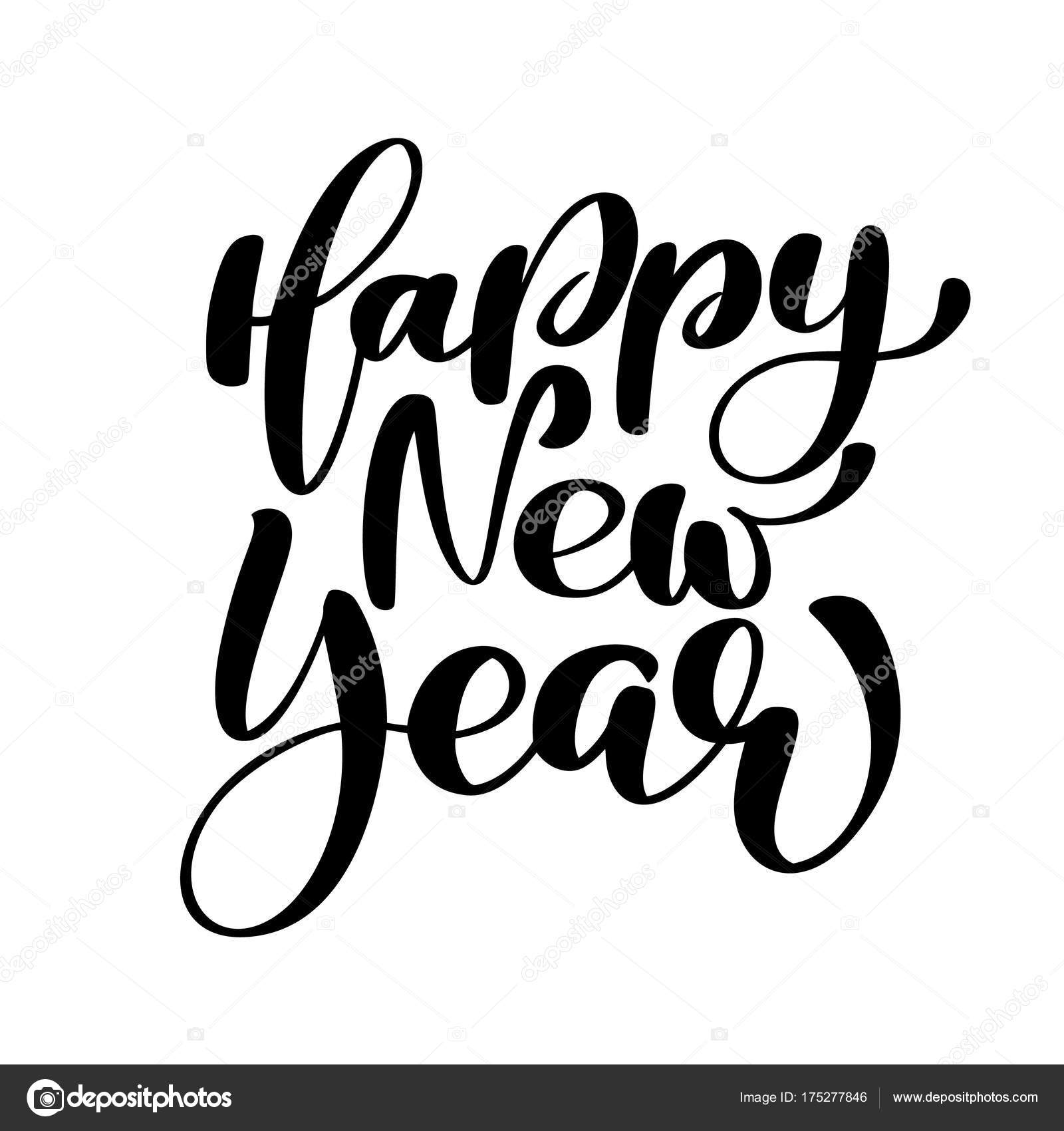 Happy New Year Lettering 22