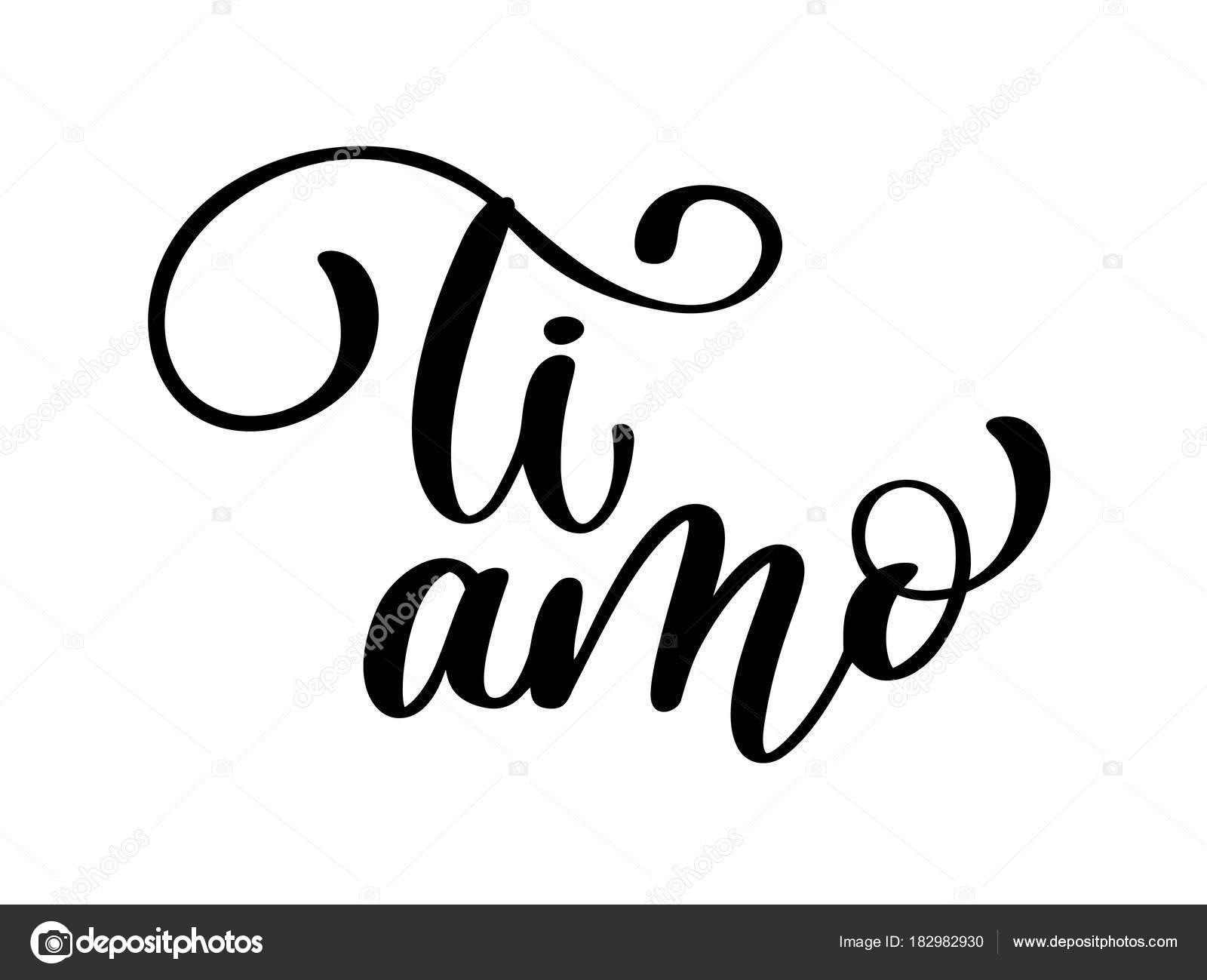 Ich Liebe Dich Italienisch
