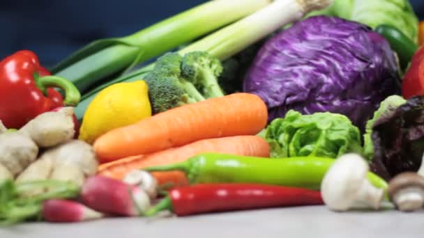 Organic colorful vegetables