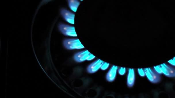 Erdgas blaue Flammen