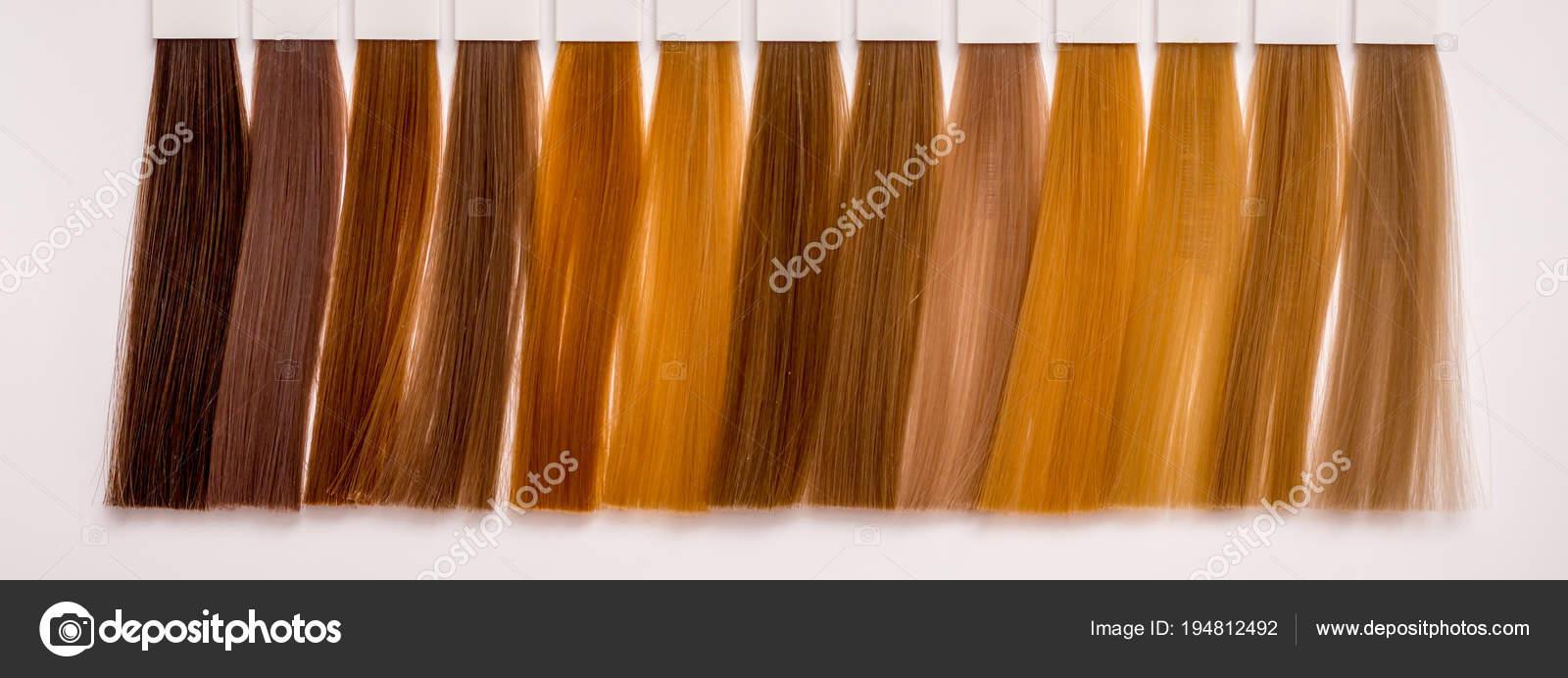 Frisuren Der Verschiedenen Farbtöne Für Die Richtige Wahl Der Farbe
