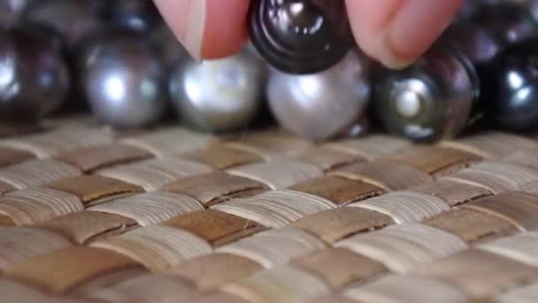 Raw Fiji Black lip oyster black pearls
