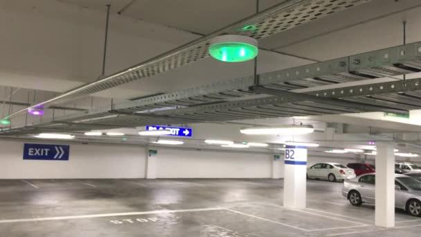Car Parking lot sensors on ceiling