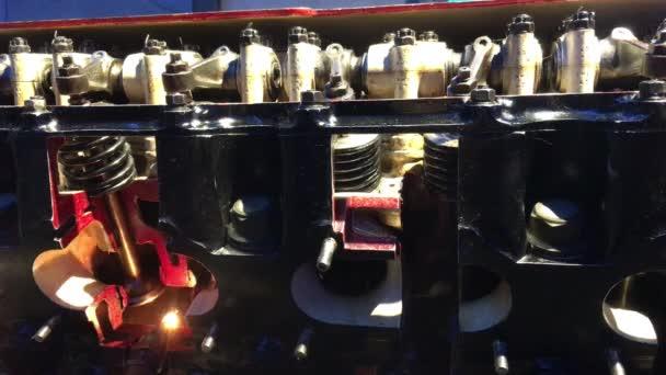 spalovací pístový motor