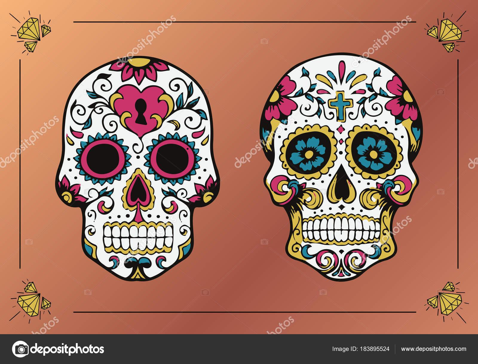 Imágenes Calaveras Cráneos Decorados La Calavera Catrina