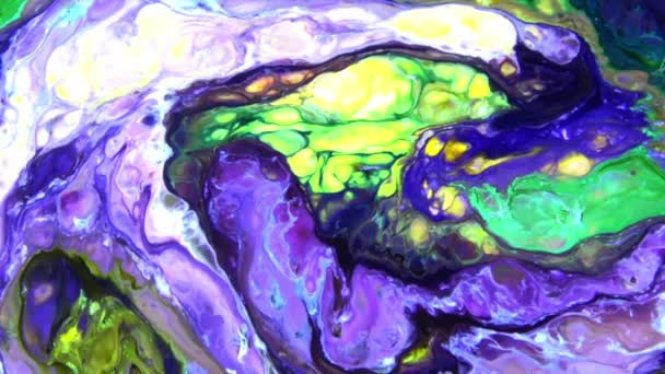Abstract Colorful Paint Ink Explode Diffusion Psychedelic Blast Movement.