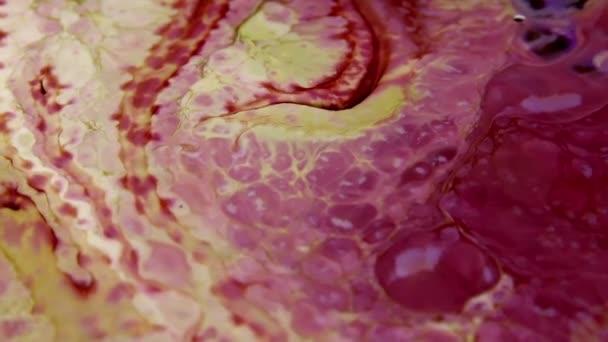 Pittura psichedelica astratta inchiostro molto bello movimento liquido sfondo texture