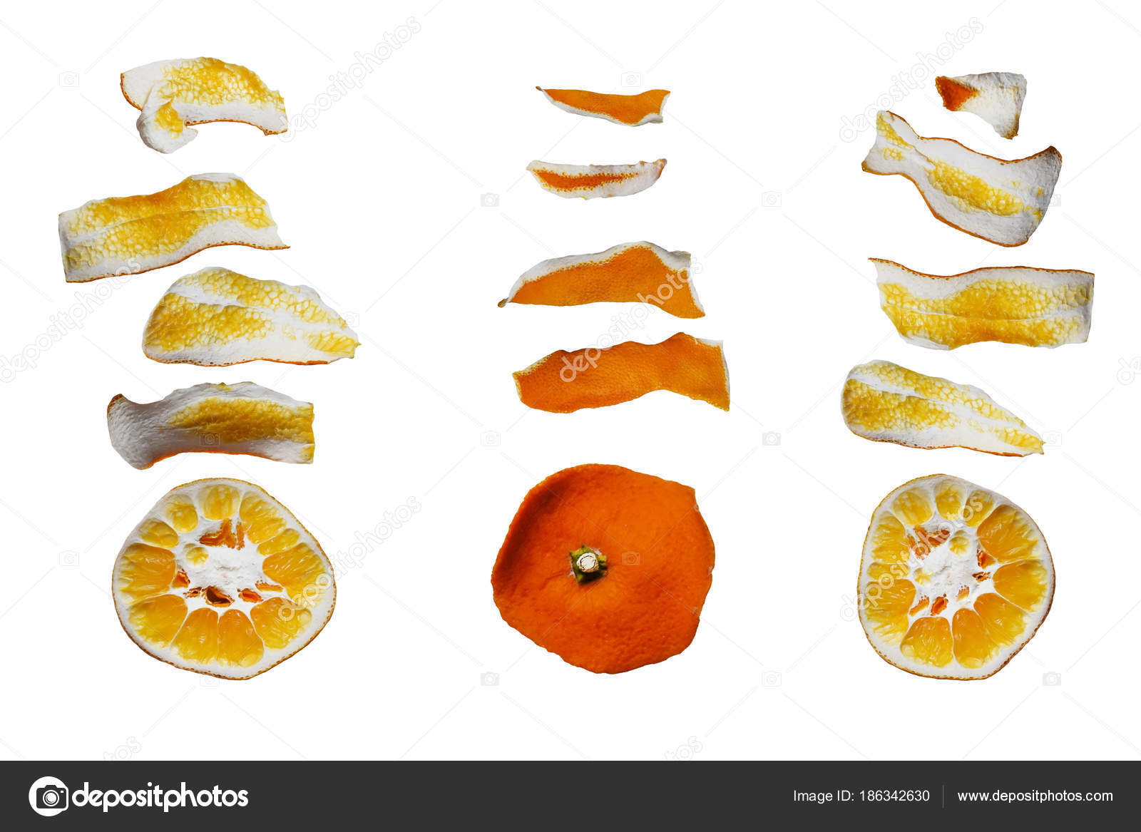 Dieta de la cascara de naranja