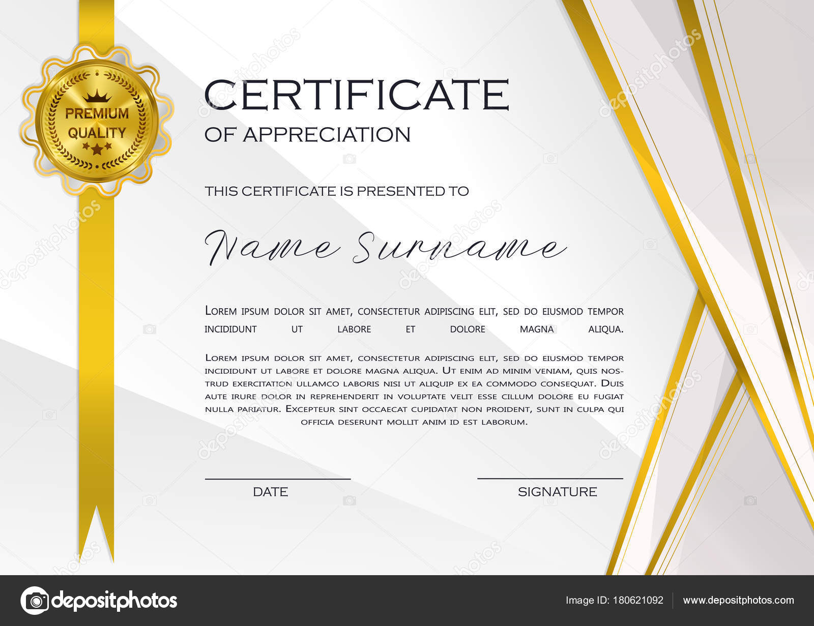 Qualification certificate appreciation design elegant luxury modern qualification certificate appreciation design elegant luxury modern pattern best quality stock vector yadclub Gallery
