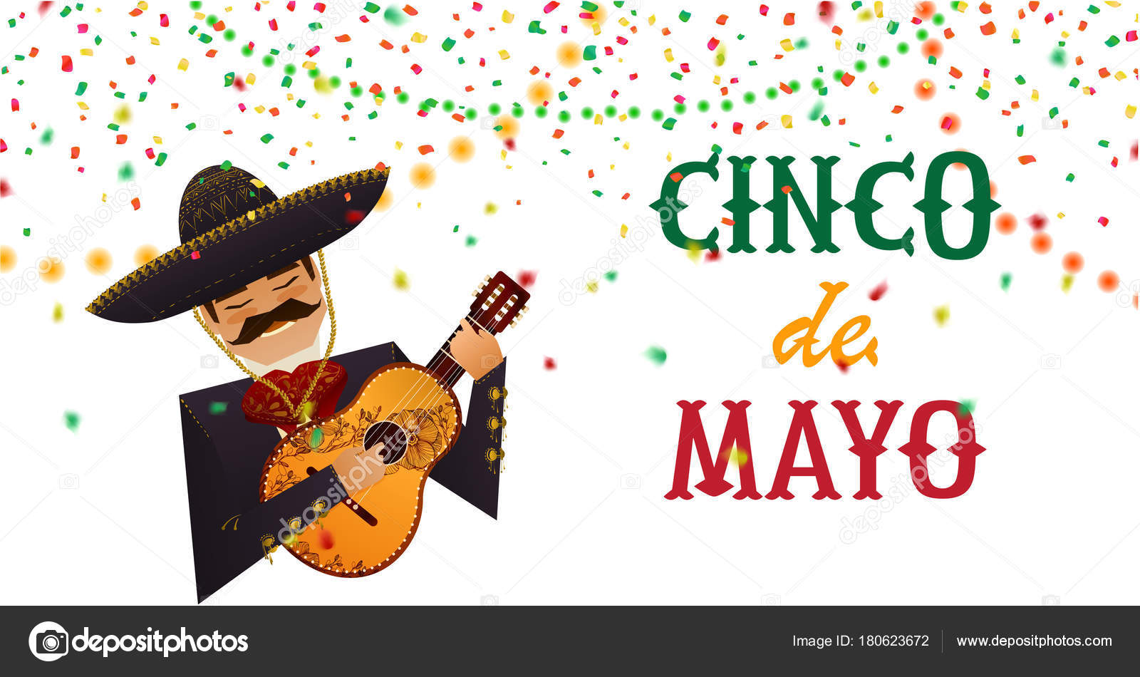 Cinco mayo poster man traditional mexican costume guitar sombrero cinco de mayo poster man in traditional mexican costume with guitar sombrero greetings background for celebration hand drawn elements flat design kristyandbryce Gallery