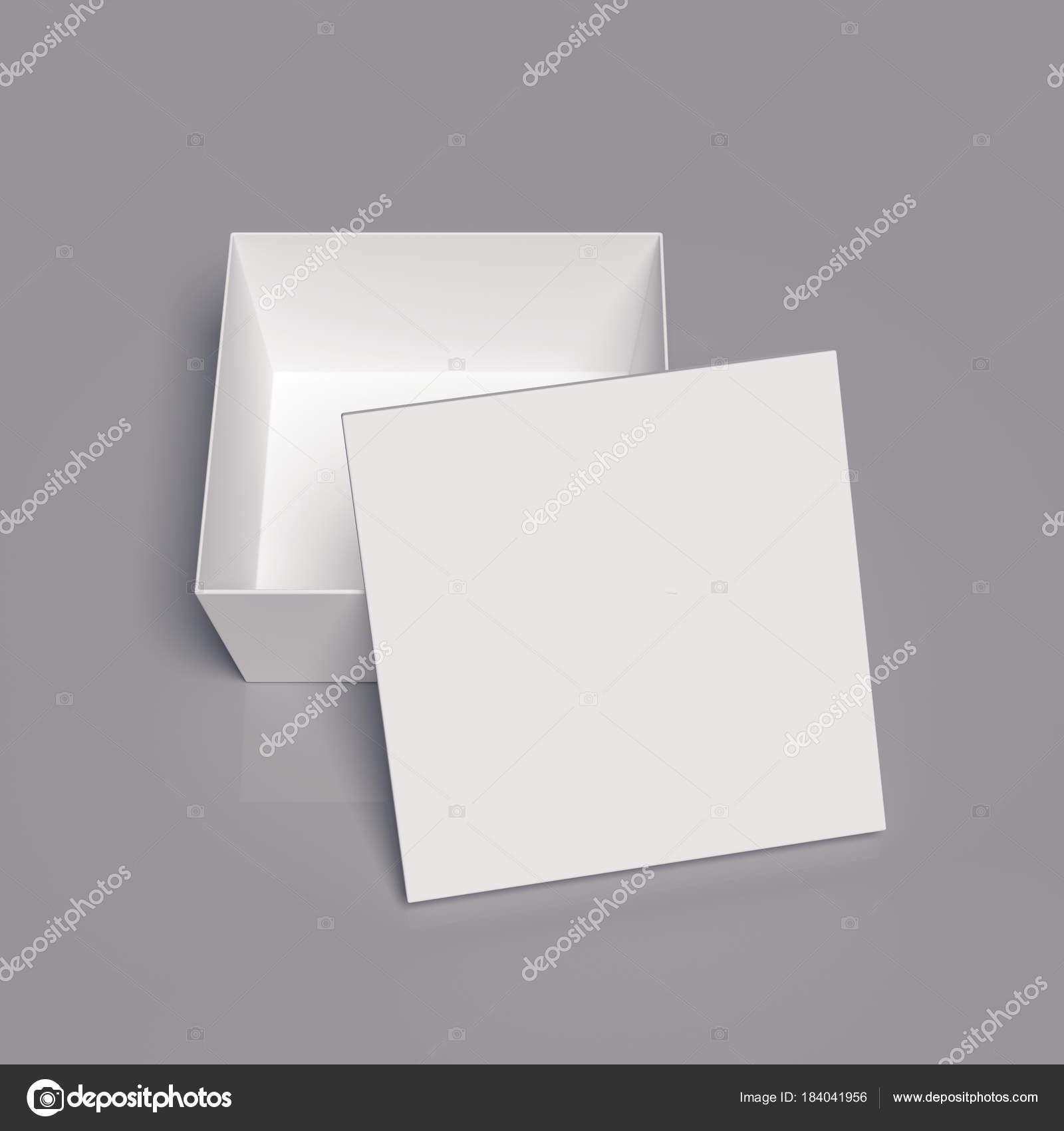 plantilla de caja de cartón — Foto de stock © TissaNsk #184041956