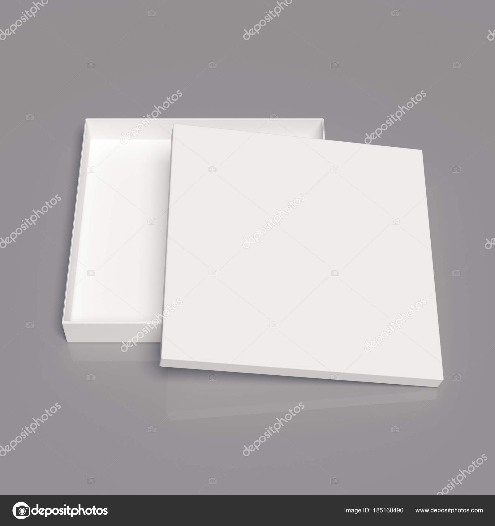 cardboard box template stock photo tissansk 185168490
