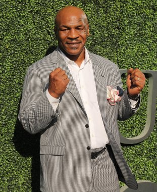 Former boxing champion Mike Tyson attends US Open 2016 opening ceremony at USTA Billie Jean King National Tennis Center