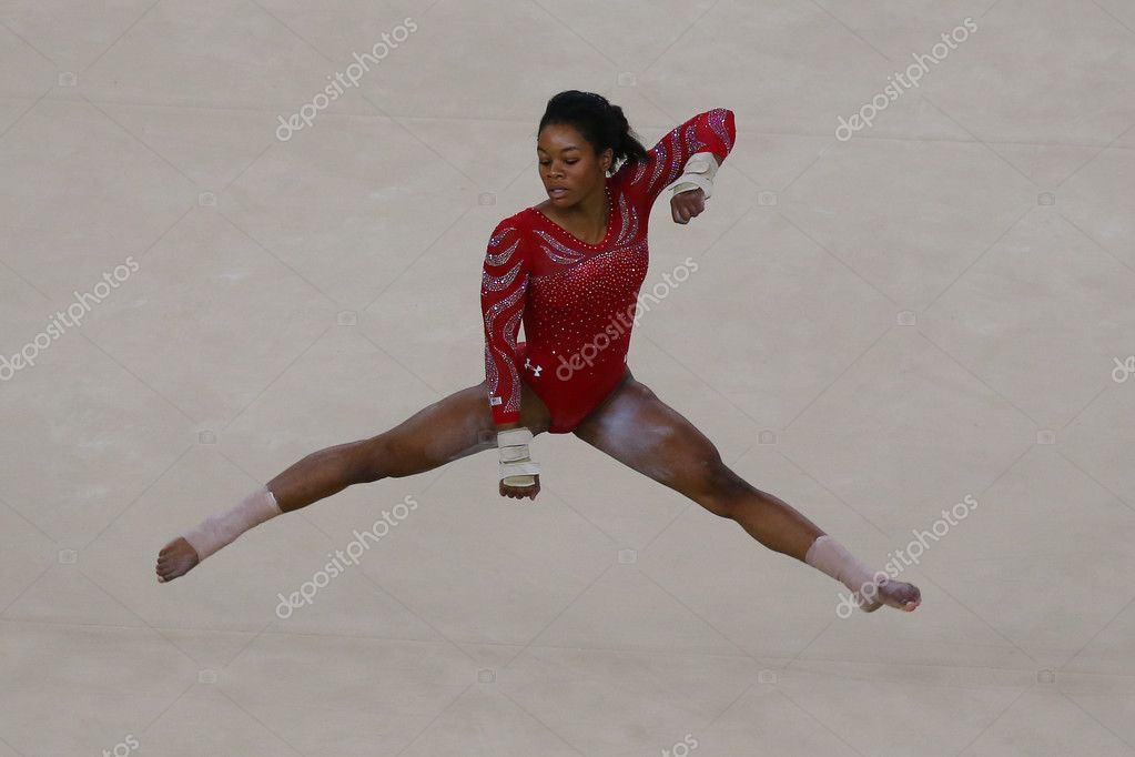 floor gymnastics gabby. Olympic Champion Gabby Douglas Of United States During An Artistic Gymnastics Floor Exercise Training Session For