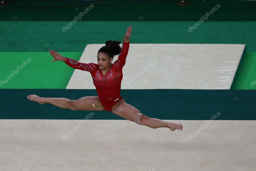 Olympic Champion Laurie Hernandez Of United States During An