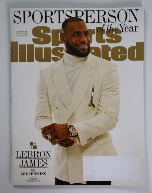 Sports Illustrated magazine Sportsperson of the Year 2016 issue with Lebron James