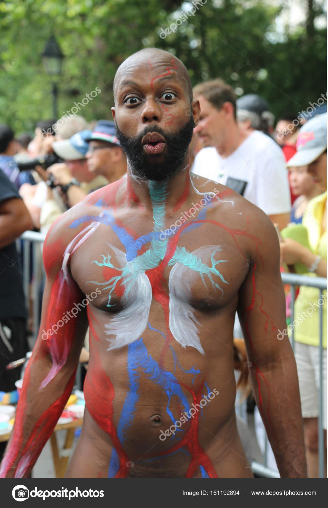 Body Paintig Art Adult Models