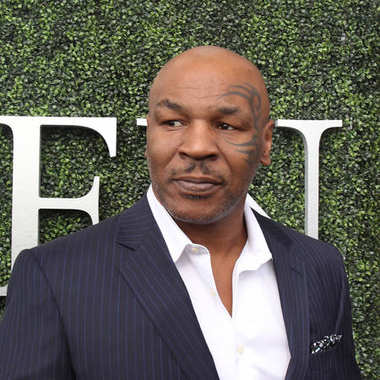 Former boxing champion Mike Tyson attends US Open 2017 opening ceremony