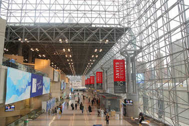 Javits Center interiors during  Photoplus conference and expo at Javits Convention Center in New York