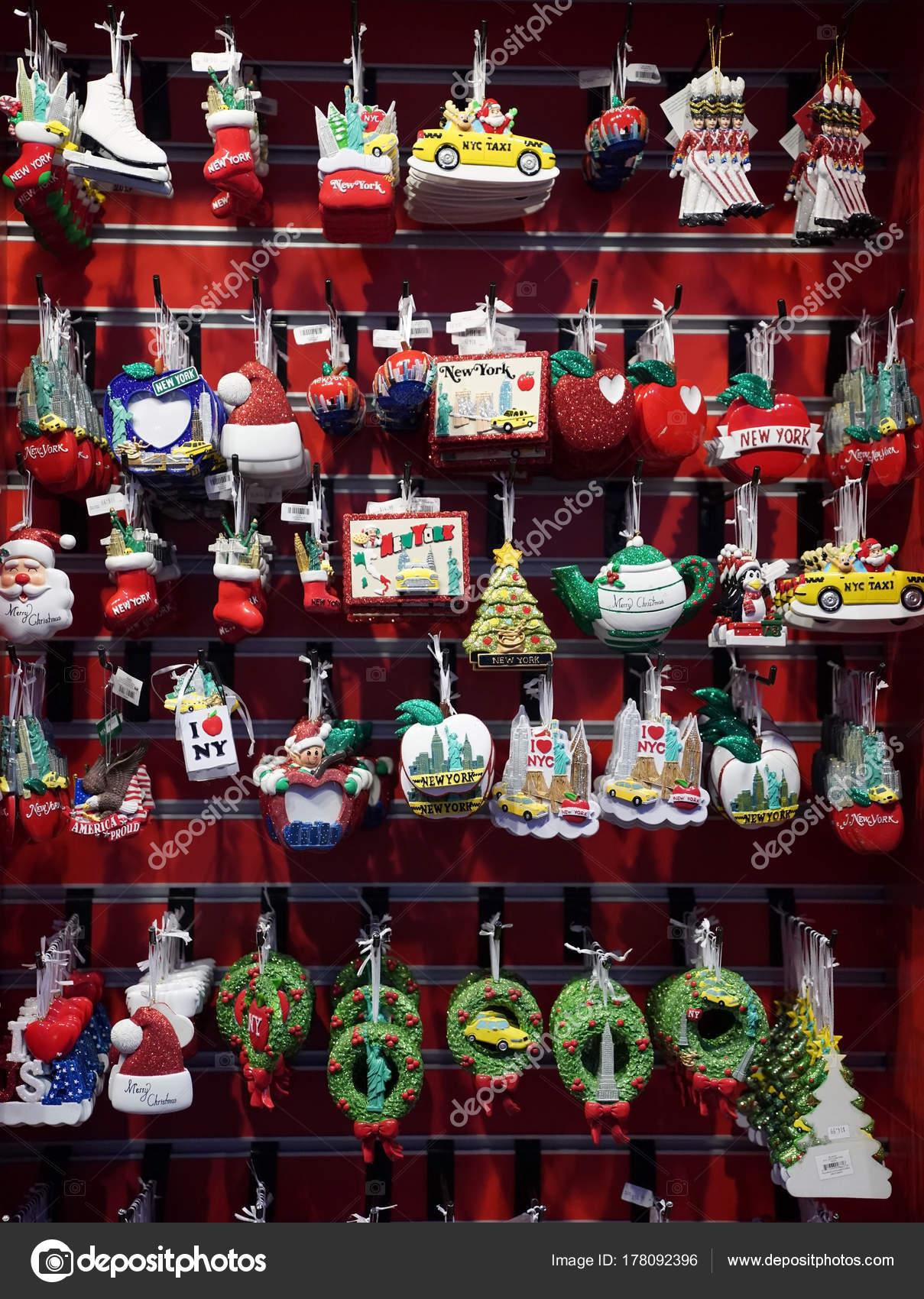 New York December 2017 New York City Themed Christmas Ornaments ...