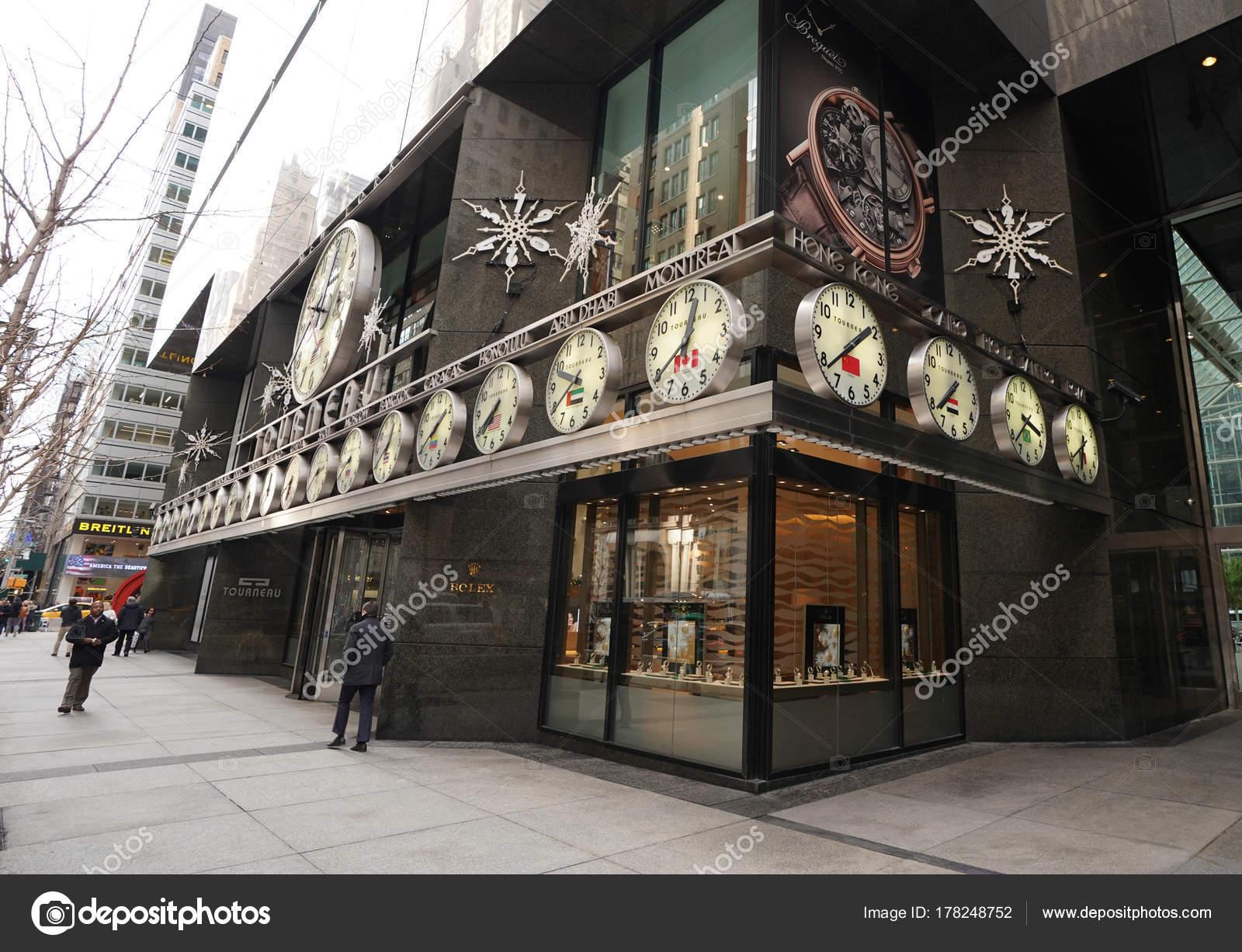New York December 2017 Tourneau Timemachine Store 57Th