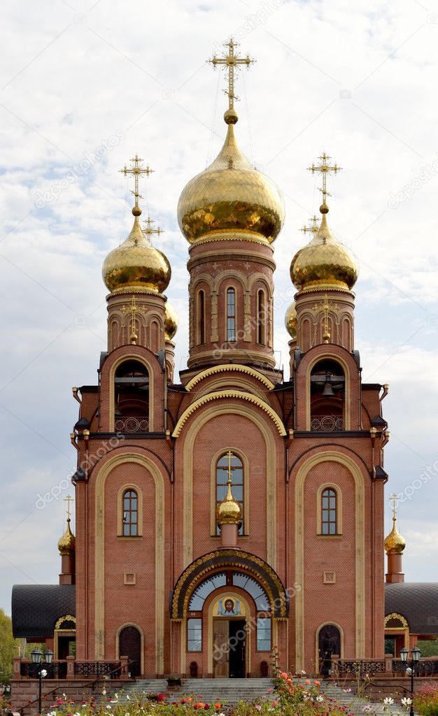 Moderne Orthodoxe Kirche. Editorial Bildern U2014 Stockfoto