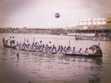 Women Boat Race in Kerala, India