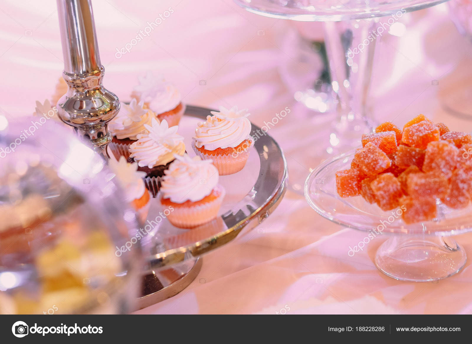 Candy bar. Table sweets candies dessert — Stock Photo © yunafoto ...