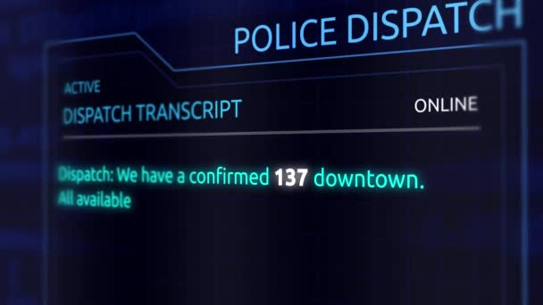 Virtuální policie odeslání přepis grafické rozhraní - kód 137 nepokoje