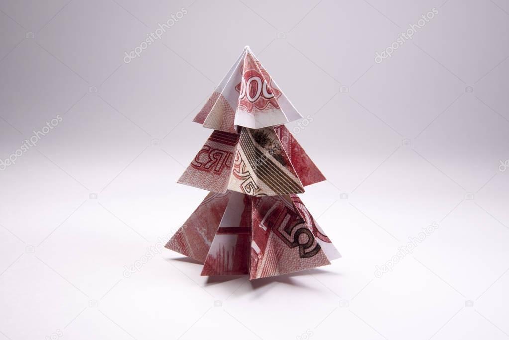 Christmas Origami Using Money | LoveToKnow | 683x1023