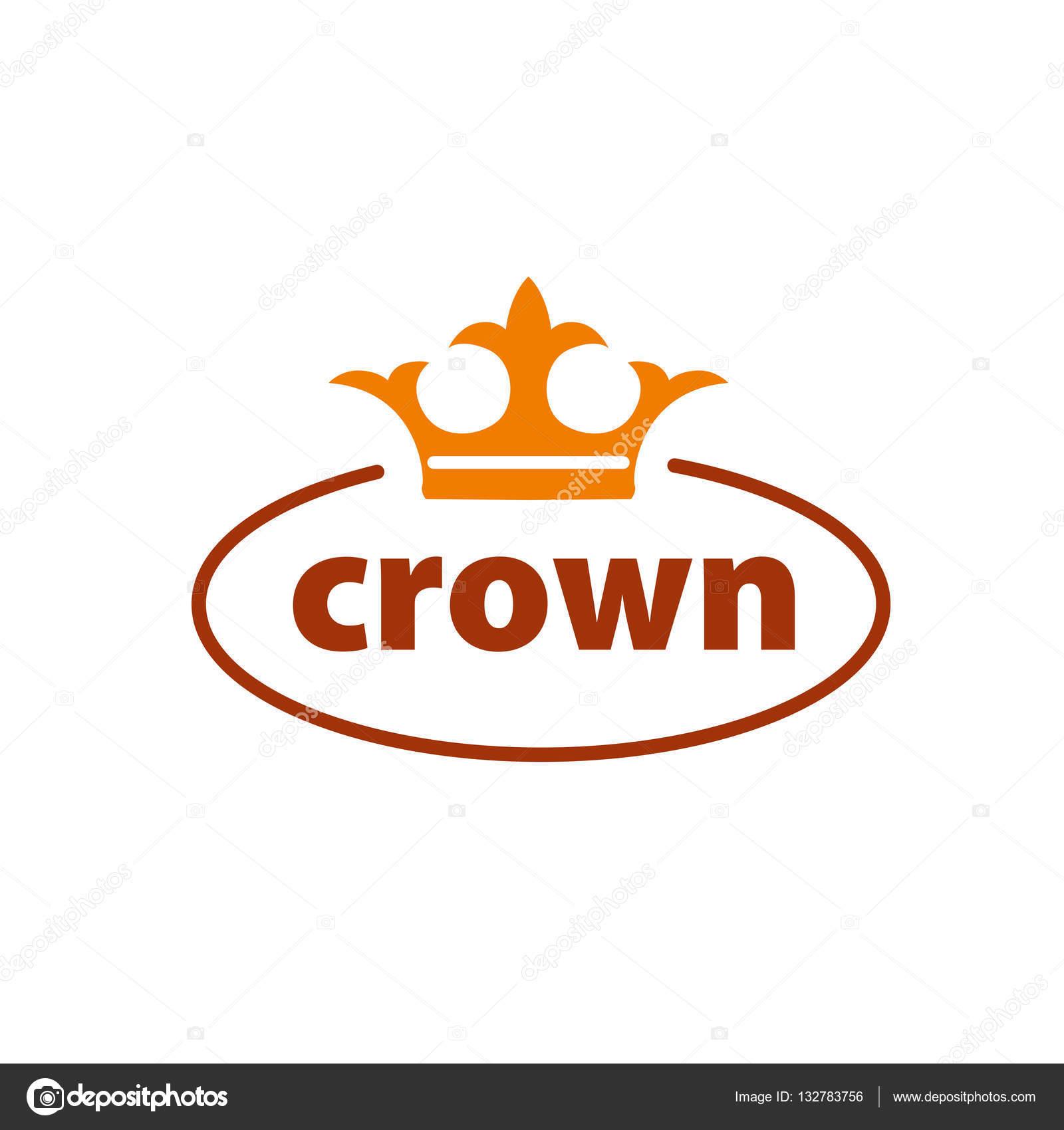 Corona de logo vector — Archivo Imágenes Vectoriales © artbutenkov ...