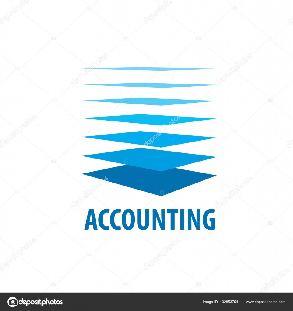 contabilidad de logo vector — Archivo Imágenes Vectoriales ...