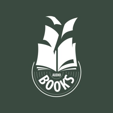 vector logo audio books fly away sheets