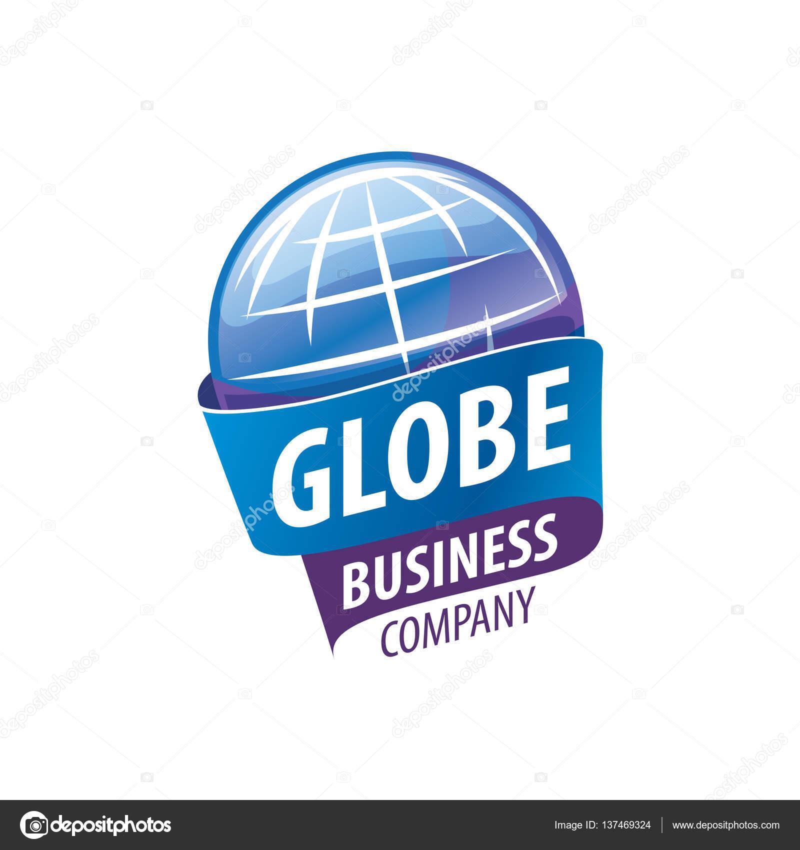 Plantilla de logotipo de la tierra. Signo del globo — Archivo ...
