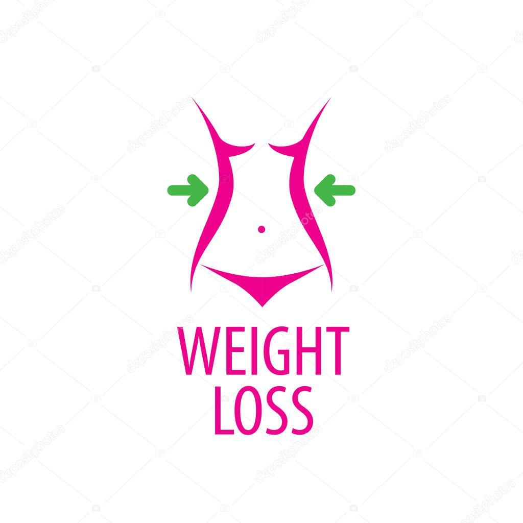 Логотипы в векторе похудение
