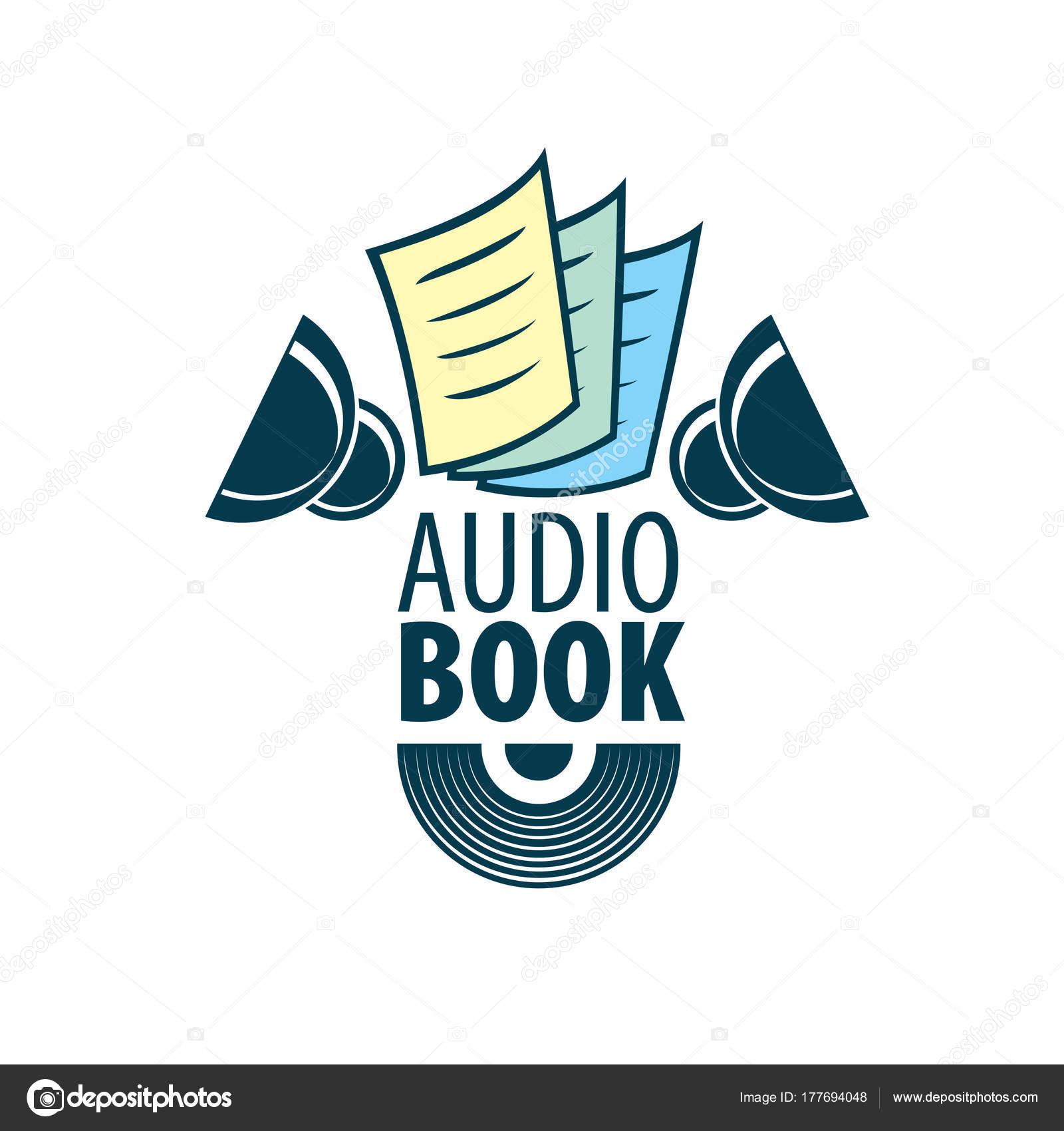 Livre Audio Modele De Logo Vectoriel Image Vectorielle