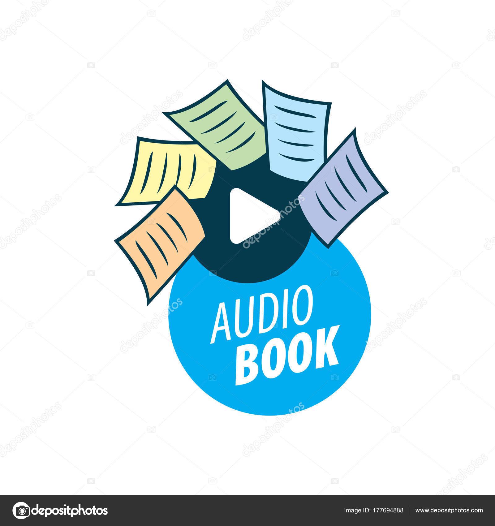 audiobook vector logo template stock vector artbutenkov 177694888